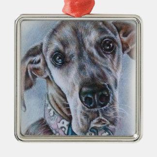 Diseño del dibujo del perro de great dane adorno de cerámica