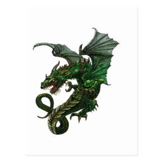 Diseño del dragón postal
