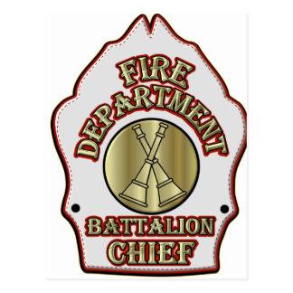 Diseño del escudo del batallón del cuerpo de postal