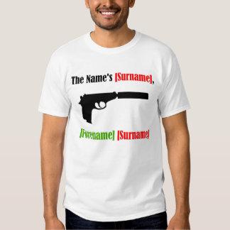 Diseño del eslogan camiseta