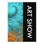 Diseño del espiral de la demostración de arte comunicado