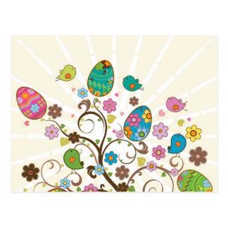 ¡Diseño del este hermoso de los huevos! Postal