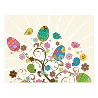 ¡Diseño del este hermoso de los huevos Tarjetas Postales