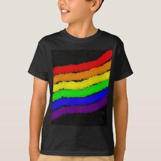 Diseño del extracto del arco iris por Moma Camiseta