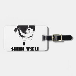 diseño del futz del shah i no etiqueta para maletas