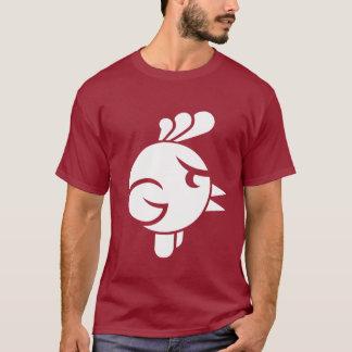 Diseño del gallo de pelea camiseta