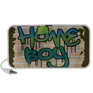 diseño del ghetto de la pared de ladrillo del much iPod altavoz