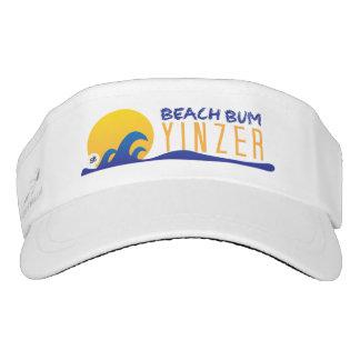 Diseño del gorra de Yinzer del vago de la playa Visera