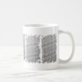 Diseño del Grunge de tres cajas Tazas De Café
