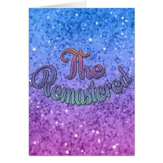 Diseño del grupo de la familia - música - vuelto a tarjeta de felicitación