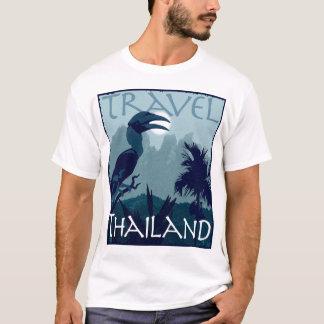 Diseño del hornbill de Tailandia del viaje Camiseta