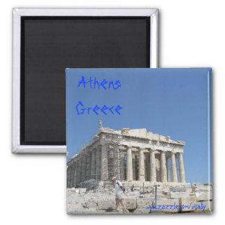 Diseño del imán de Atenas Grecia