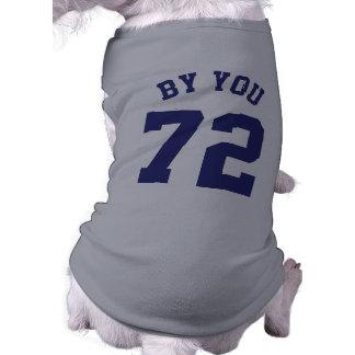 Diseño del jersey de los deportes de los mascotas camiseta sin mangas para perro