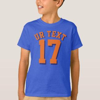 Diseño del jersey de los deportes de los niños el