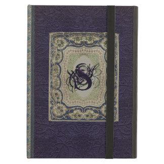Diseño del libro del monograma del Victorian