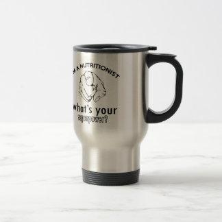 diseño del nutricionista tazas de café