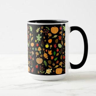 Diseño del otoño taza