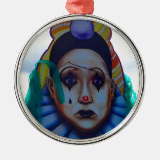 Diseño del payaso del carnaval ornamentos de navidad