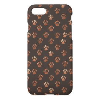Diseño del perro de la pata funda para iPhone 7