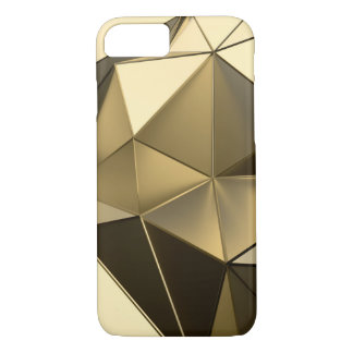 diseño del polígono del oro funda iPhone 7