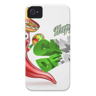 Diseño del poster de la pimienta de chiles de carcasa para iPhone 4 de Case-Mate