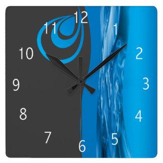 Diseño del reloj de la compañía de la fontanería