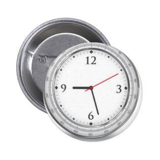 Diseño del reloj del vector pin