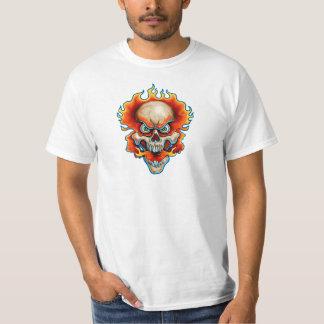 Diseño del respiradero del fuego camisas