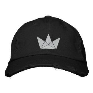 Diseño del rey juego gorras bordadas