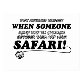 diseño del safari postal