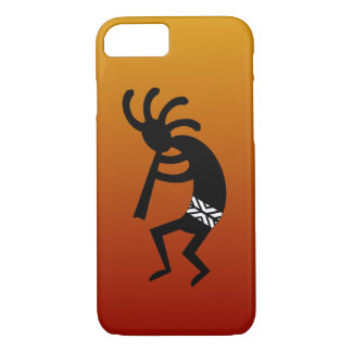 Diseño del sudoeste que baila Kokopelli Funda iPhone 7
