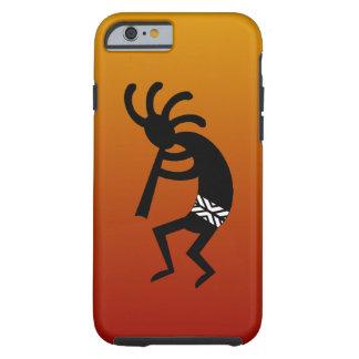 Diseño del sudoeste que baila Kokopelli Funda Resistente iPhone 6