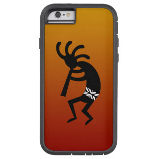 Diseño del sudoeste que baila Kokopelli Funda Tough Xtreme iPhone 6