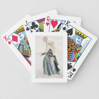 """Diseño del traje para """"Misa Sert"""" como 'la de la d Baraja Cartas De Poker"""