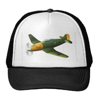 Diseño del vector plano gorras