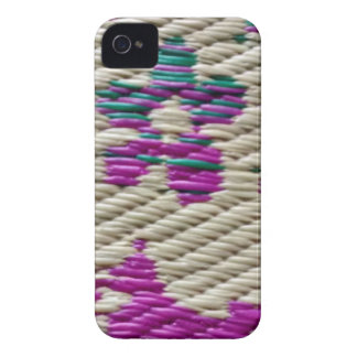 diseño del zigzag iPhone 4 Case-Mate fundas