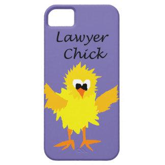 Diseño divertido del arte del polluelo del abogado iPhone 5 Case-Mate carcasas