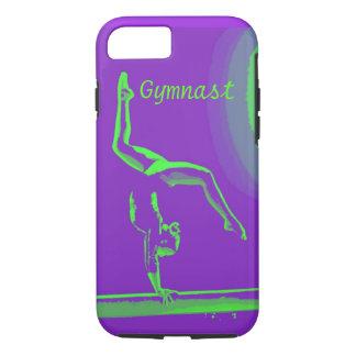 diseño duro del gimnasta de la cubierta del iphone funda iPhone 7