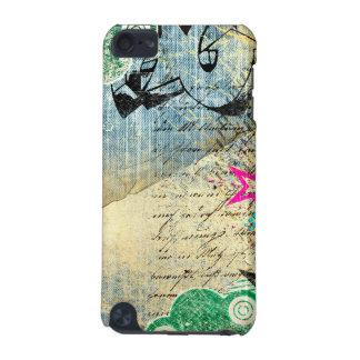 Diseño elegante abstracto carcasa para iPod touch 5