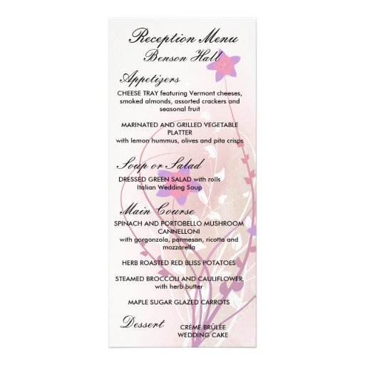 diseño elegante de la flor rosada suave bonita lonas publicitarias