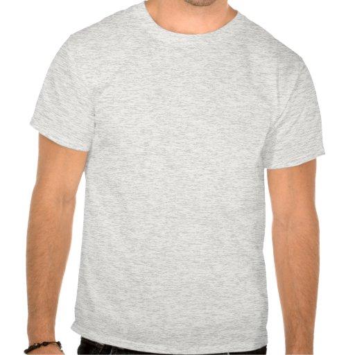 Diseño escocés del monograma de la raza del collie camiseta