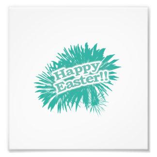Diseño feliz del tema de Pascua Arte Fotografico