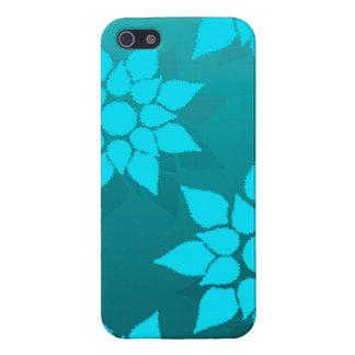 Diseño floral de la diversión en sombras de la iPhone 5 protector