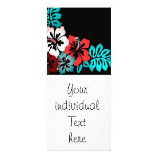 Diseño floral exótico lona