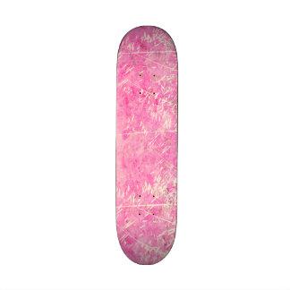 Diseño floral rosado y blanco sucio precioso patin