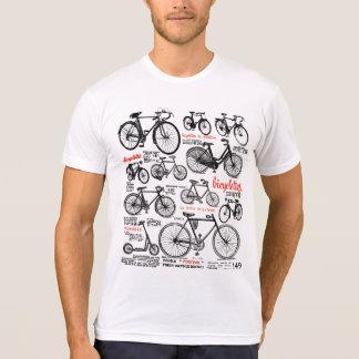 Diseño francés del anuncio del catálogo de la bici camisetas