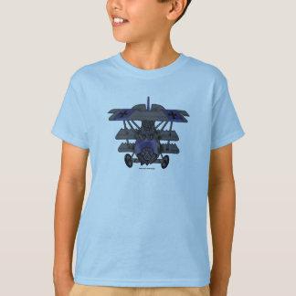 Diseño fresco de la camiseta del avión del vintage