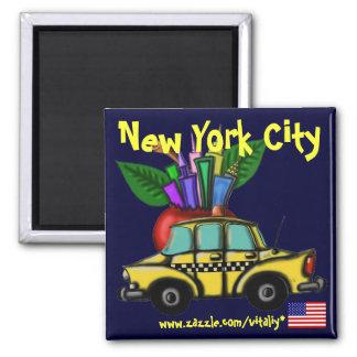 Diseño fresco del imán de New York City