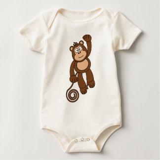 Diseño fresco del mono body para bebé
