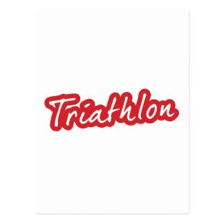 Diseño fresco del Triathlon Postal
